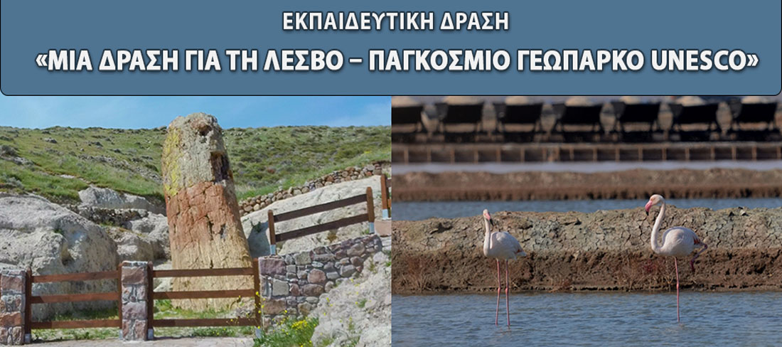 "Educational Activity ""An Action for Lesvos Island Unesco Global Geopark"""